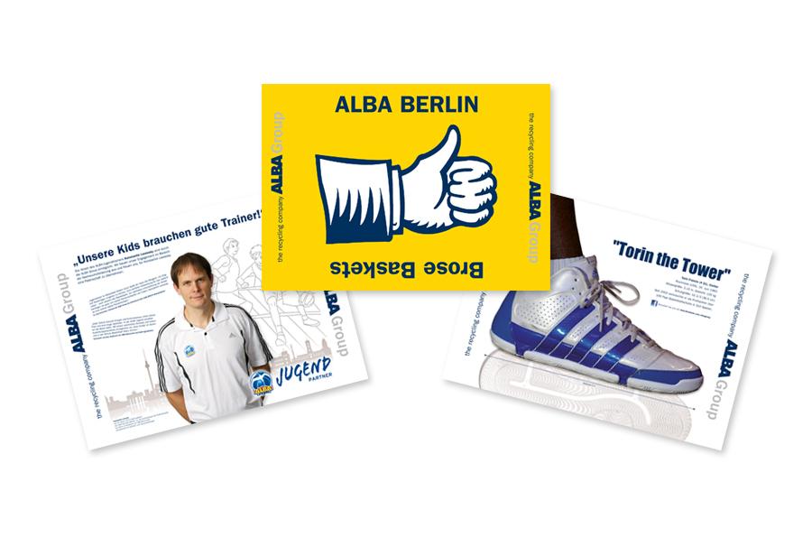 Klatschpappen ALBA Berlin
